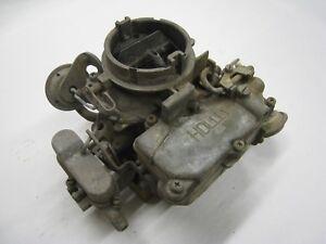 Details about 1966-67 AMC & Jeep Holley 2bbl Carburetor List 3307 3180627  R3307 **CORE**