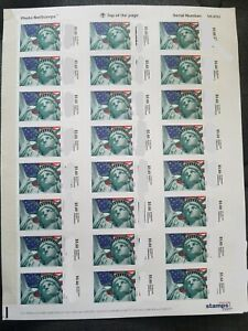USPS $5.60 Priority Stamps Postage 24/sheet $134.40 Face Value free US Shipping