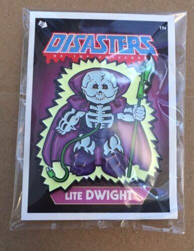 Disasters of the Universe Lite Dwight Joe Glow Enamel Pin