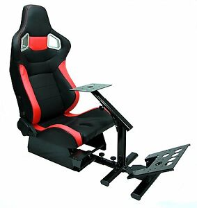 Image is loading Tanaka-Racing-Chair-Simulator-Cockpit-For-PC-PS4-  sc 1 st  eBay & Tanaka Racing Chair Simulator Cockpit For PC PS4 XBOX(Chair Not ...