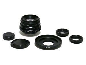 Fujian-35mm-F1-6-CCTV-Cine-APS-C-Lens-C-EOS-M-C-Mount-to-Canon-M1-M2-M3