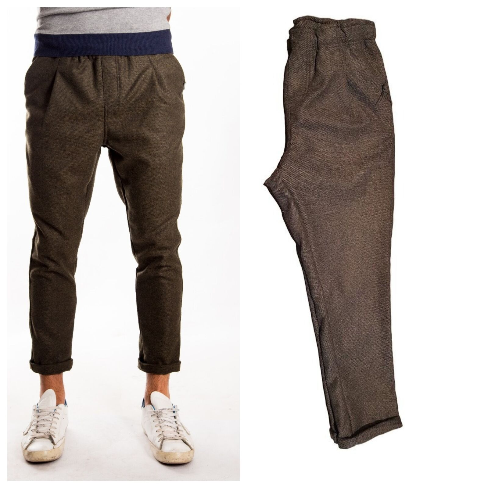 Trousers  The Kingless Collective Man 03 MIL Low Rise Carred Fit  Pences Couliss