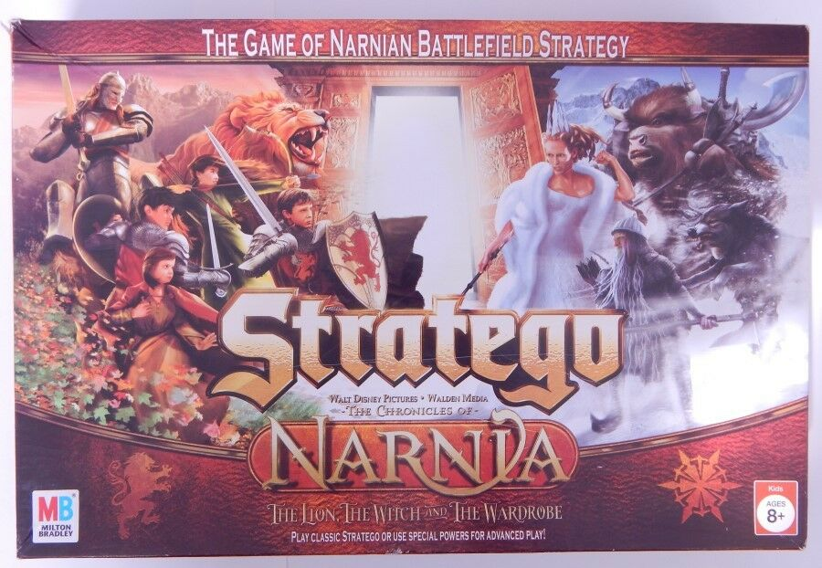 Chronicles of NARNIA Stratego Strategy Game 2005 MB Hasbro  R11690