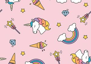 A4-Cute-Girly-Poster-Print-Size-A4-Girls-Unicorn-Rainbow-Poster-Gift-14698