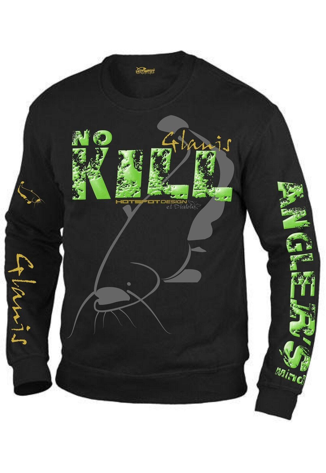 Hotspot Design Sweater   Catfishing , Sweater für Welsangler, F-CAT-00  sale