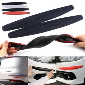 2PC-Universal-Car-Carbon-Fiber-Anti-rub-Strip-Bumper-Body-Corner-Protector-Guard