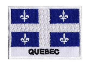 Insignia-para-coser-parche-parche-bandera-QUEBEC-70-x-45-mm-Estados-Canada
