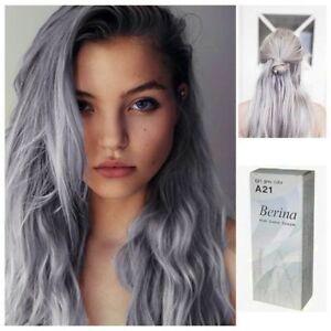 Professional Danesi Semi Permanent Hair Color Dye Punk Light Gray Silver Cream Anthocyanin 100ml In From Beauty