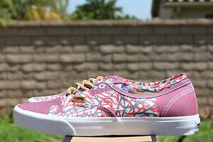 c7e12afb1f VANS AUTHENTIC CA SZ 8 CALI TRIBE WASHED POPPY RED VN 0JWIAS4