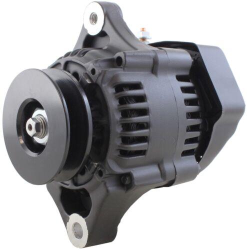 New Mini Alternator fits Denso Hot Rod Race Car Black 70 Amp 1 Wire 16 Volt