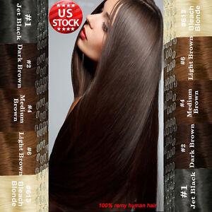 Cheap Human Hair Extensions Full Head 9