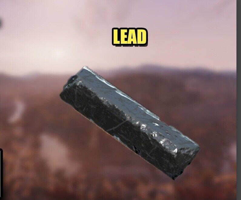 (2,000) Lead scrap fallout 76 ps4