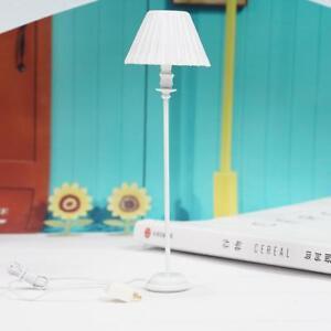 1-12-Dollhouse-Miniature-Floor-Lamp-Light-Dolls-House-Bedroom-Access-ss