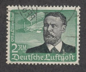 Germany-Sc-C55-used-1934-2m-Otto-Lilienthal-BERLIN-cancel-VF