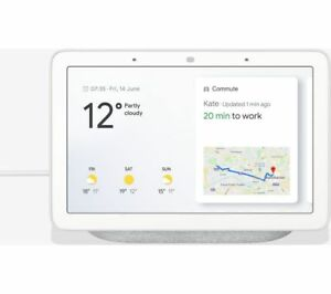 GOOGLE-Home-Hub-with-Google-Assistant-Hands-Free-Help-at-Home-Brand-New-Sealed