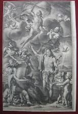 Schabkunstblatt von E.C. Heiss: Auferstehung Christi 1690/Mezzotint Resurrection