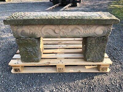 Alte Sandsteinbank , Bänke , Deko , Gartengarnitur , Naturstein , Stein , Garten 100% Hochwertige Materialien