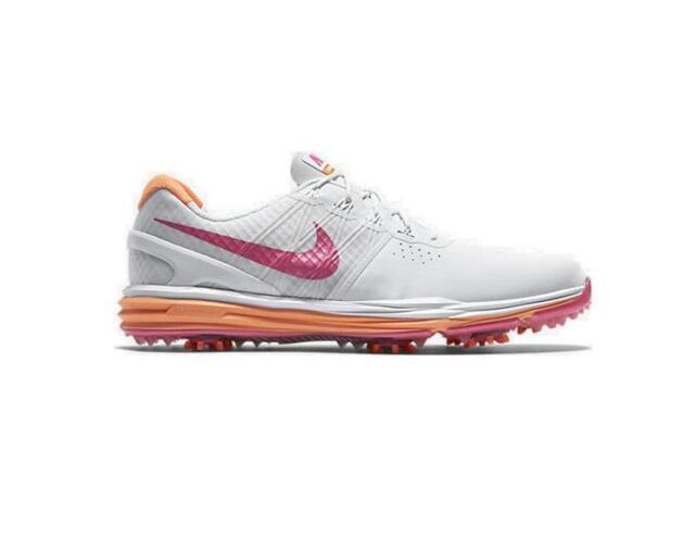 reputable site 97509 00fb4 ... Pure Platinum Pink Pow Charcoal Nike Womens Lunar Control Golf Shoes  White Pink Womens NIKE LUNAR CONTROL White Golf Trainers 704676 102 ...