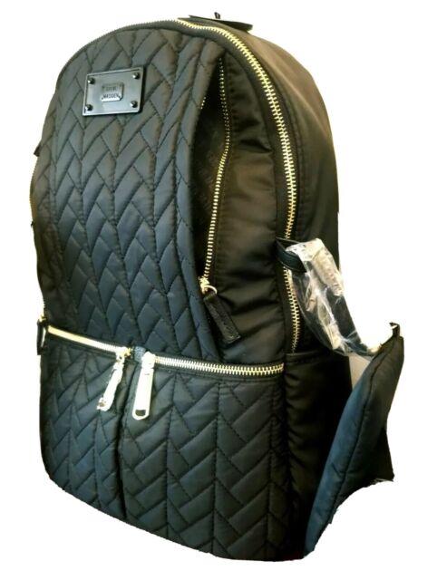 """STEVE MADDEN Black Backpack Padded """"NOT BROWN"""""""