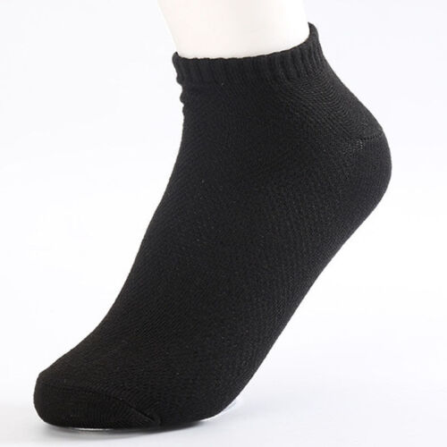 10Pairs Summer Autumn Men Ankle Cotton Socks Low Cut Crew Casual Sports CA 2H