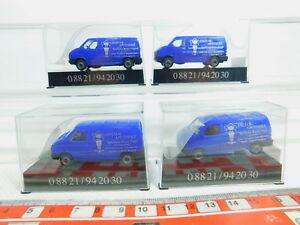 BN132-0-5-4x-AWM-AMW-H0-1-87-Transporter-VW-Enzian-Apotheke-NEUW-OVP