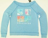 Hollister Sweatshirt Top Dixon Lake Surf Sequins Womens Size Medium Large