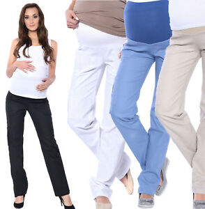 1a86b516785 Details about Maternity Pregnancy comfortable Trousers Cargos Pants Over  Bump 8 10 12 14 16 18