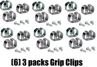 (6) Crawford 13202 3 Packs Large Wall Mount Tool Handle Organizer Grip Clips