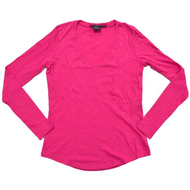 df42d148 Polo Ralph Lauren Womens T-shirt Jersey Tee Light Weight Sport V ...