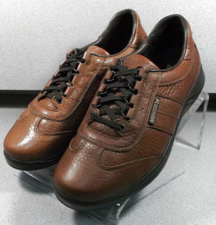 HIKE BROWN MMPF40 Men's shoes Size 8 () Leather Lace Up Mephisto