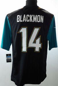 Nuevo-Jacksonville-Jaguars-14-Blackmon-Nike-en-Campo-NFL-Jersey-034-M-034-Jags-Camisa