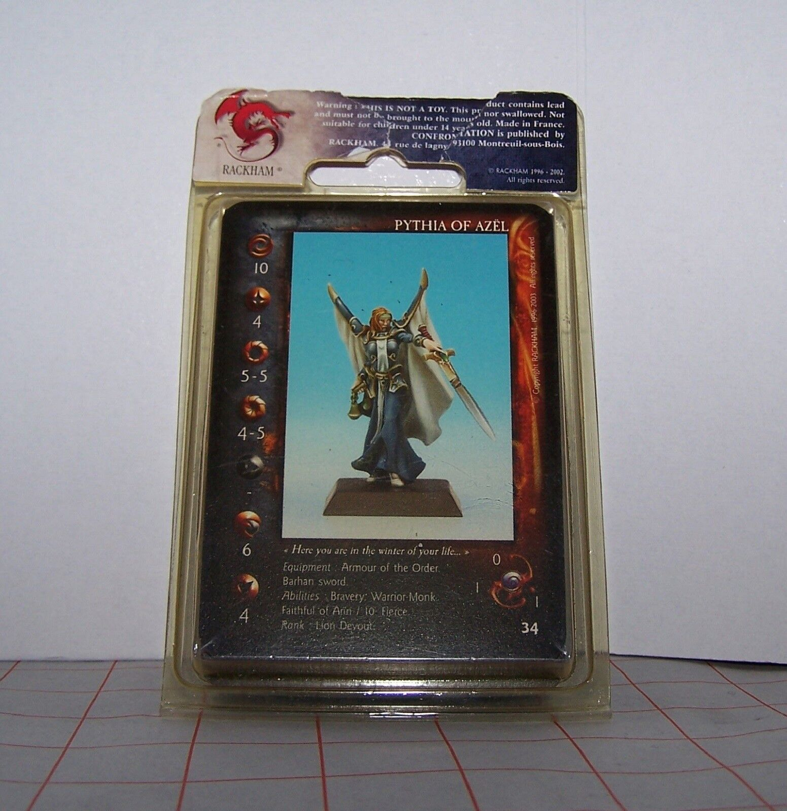 Confrontation Lions of Alaha Pythia Pythia Pythia of Azel (English cards, Warhammer Sigmar) 10cd61