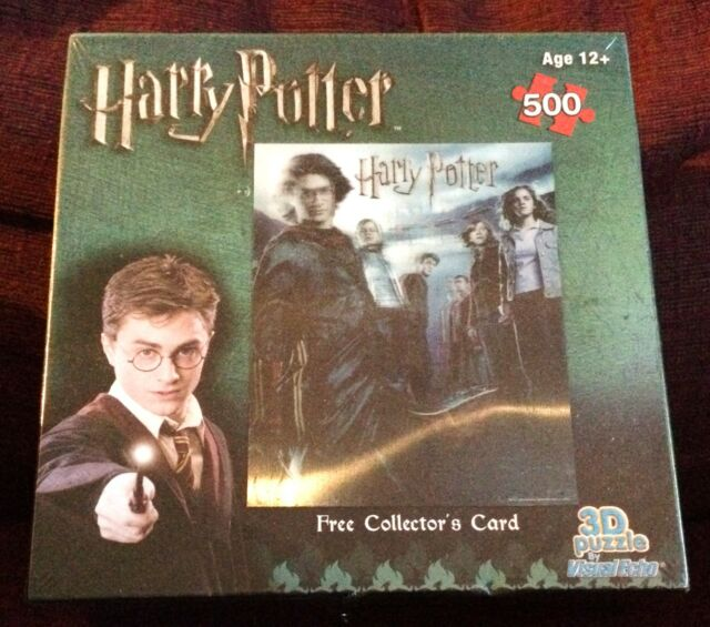 Harry Potter Visual Echo Lenticular 3D Effect 500 pc Jigsaw Puzzle NEW SEALED #3