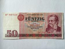 50 Mark 1971 Banknote  Geldschein  DDR absolut Echt !!!