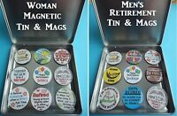 Retirement Frig Magnets Coolest Gifts For Someone Special Men & Woman Retirement