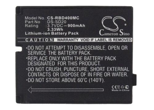 Batería 3.7V Para Rollei 3S 4S 5S DS-SD20 900mAh Nuevo