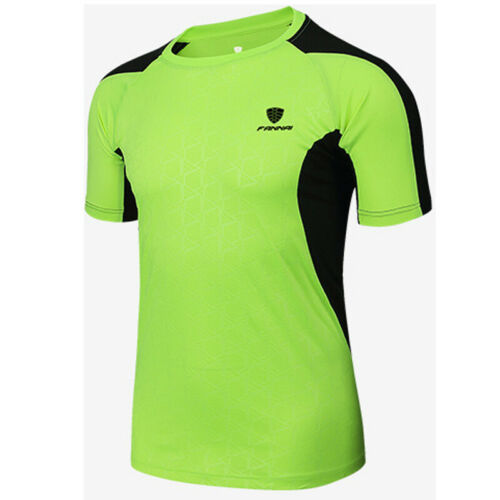 Herren Fußball Sport Fitness Freizeit Trainings Fitness Fit l Trikot T-Shirt Top