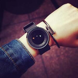 Fashion-Men-039-s-Watches-Stainless-Steel-Analog-Quartz-Sports-Wrist-Watch-Black-DC