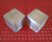 2 Pc 2 X 2 X 2 Aluminum 6061 T6511 New Solid Plate Flat Bar Stock Block Mt