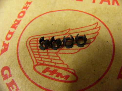 HONDA cb cl 450 k3 k4 k5 Clip Set Pour tankembleme Rainure rear Ornement Clamp Set