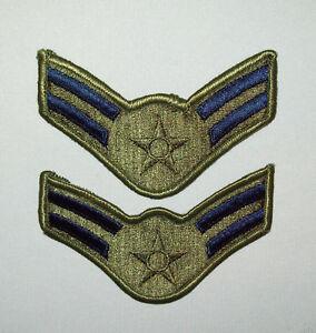 Vtg-1960s-70s-Pr-Deadstock-Vietnam-War-Era-Airman-1st-Class-OG-Air-Force-Patches