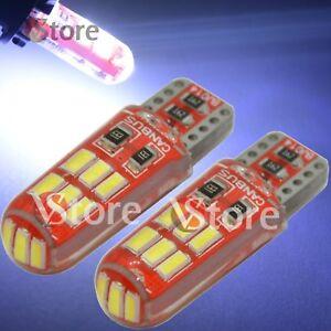 4 Led T10 Lampade Gel Silica Smd 15 Smd 3014 Cob No Errore Canbus Bianco Xenon