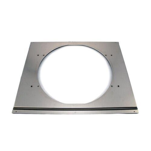 """Universal 16"""" Electric Fan Shroud Aluminum Fits 19x26"""" Crossflow Radiator"""