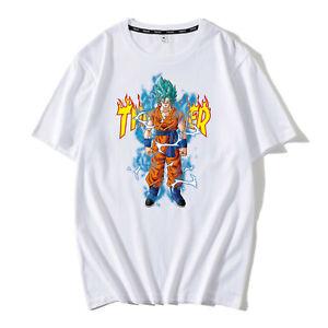 Image Is Loading Short Sleeve T Shirt Anime Dragon Ball Z