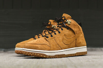 Nike Dunk Comfort CMFT WB Sneakerboot Boots Suede Shoes Sz 10 Wheat 805995 700   eBay
