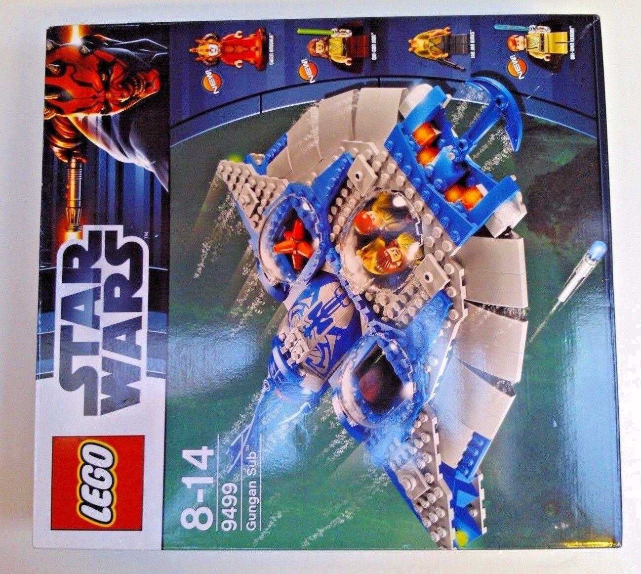 LEGO estrella guerras  9499 Gungan regina Amidala Obi-Wan Kenobi Qui-Gon Jinn lol Jar jar  tutti i beni sono speciali