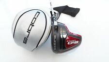 NEW Cobra Bio Cell + Driver 8-11 Red Head Stiff Graphite Shaft and cover