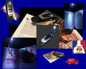 Lampe-Lecture-LED-Legere-Eclairage-Lumiere-Poche-Marque-Page-Voyage-Lit-Canape