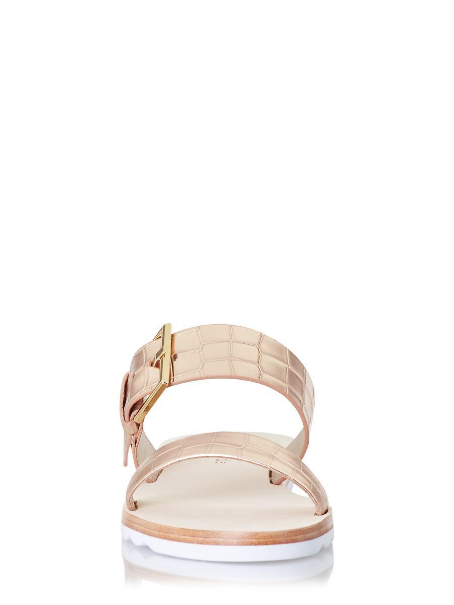 VS Victorias Secret Pink Double Strap Slide Sandal Slipper Flip Flop L 9/10