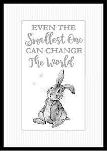 Winnie the Pooh Baby/'s Nursery Picture Gift A4 Frameless